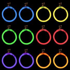 Lichtgevende Oorbellen Rond ( 1 paar)