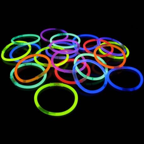 Glow in the Dark Armbandjes Eenkleurig (100 stuks)