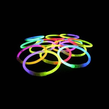 Glow in the dark Armbandjes Tweekleurig