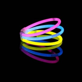 Glow in the Dark Armbandjes Triple (33 stuks)