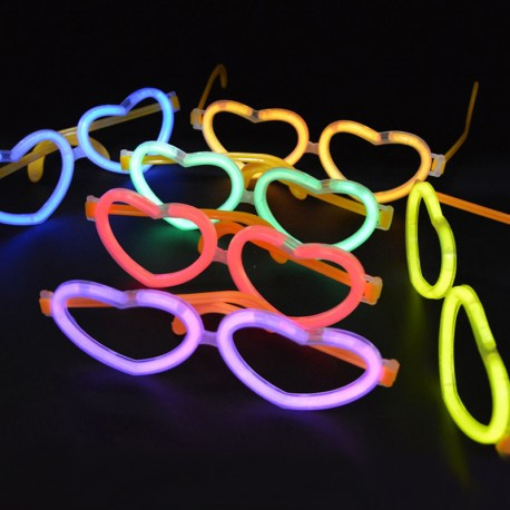 Lichtgevende Hartjes Brillen in Bulk