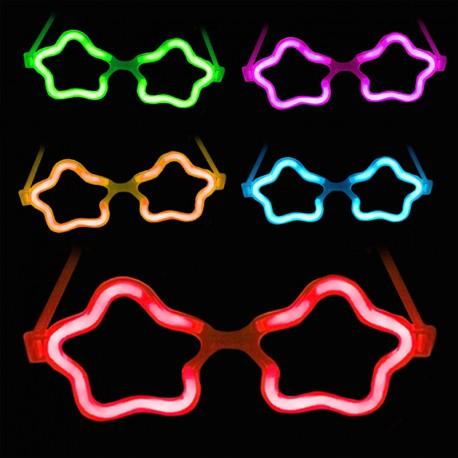 Lichtgevende Brillen Ster in Bulk