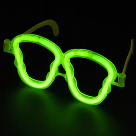 Lichtgevende Brillen Doodshoofd in Bulk