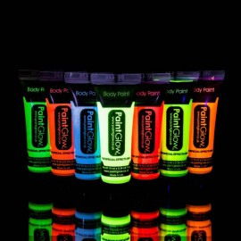 Glow in the Dark Bodypaint Verf 10 ml