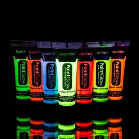 Glow in the Dark Bodypaint Verf 10 ml