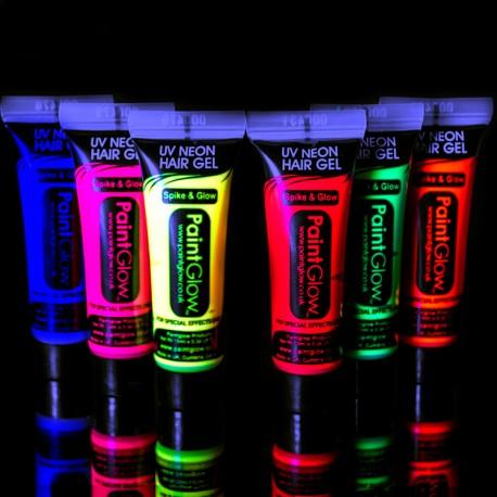 Fluorescerende Haargel