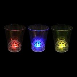 Glas met led Licht (1 stuk)