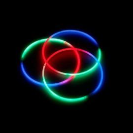 Lichtgevende Kettingen Driekleurig (50 stuks)