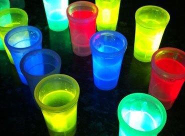 Lichtgevende Glazen